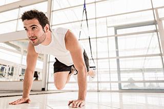 Unfall-Rücken-Training